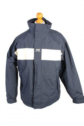 Vintage Helly Hansen Windbreaker Winter Coat M Navy
