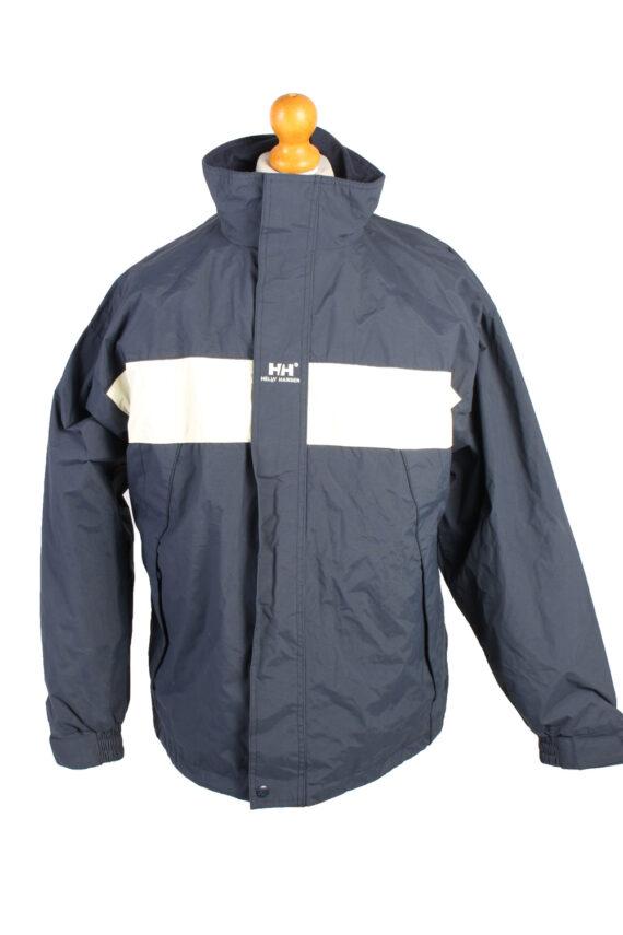 Vintage Helly Hansen Windbreaker Winter Coat M Navy -C1369-0