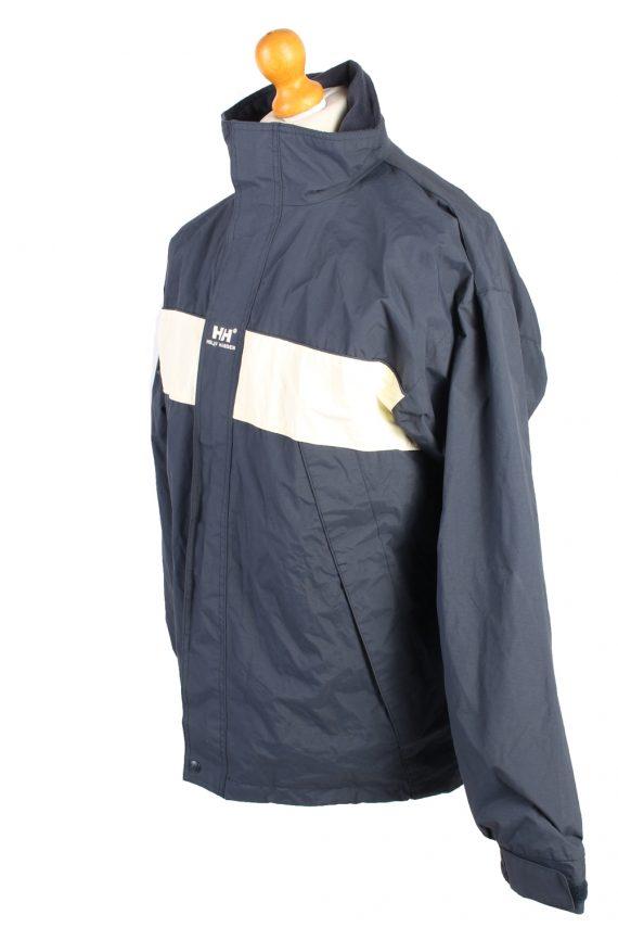 Vintage Helly Hansen Windbreaker Winter Coat M Navy -C1369-104109