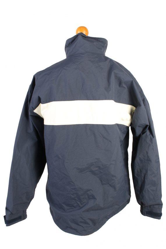 Vintage Helly Hansen Windbreaker Winter Coat M Navy -C1369-104110