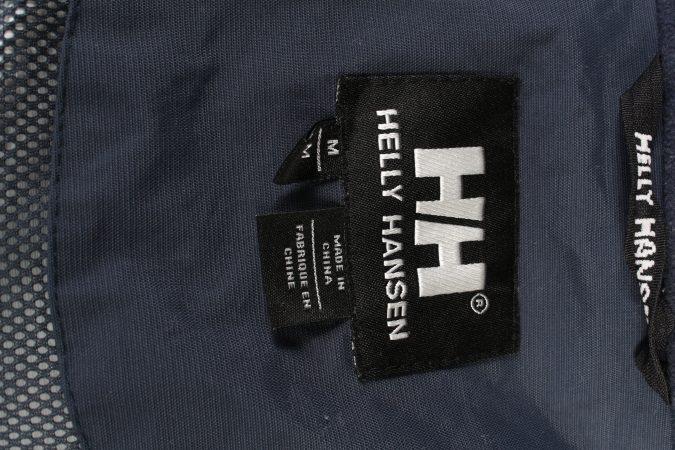 Vintage Helly Hansen Windbreaker Winter Coat M Navy -C1369-104111