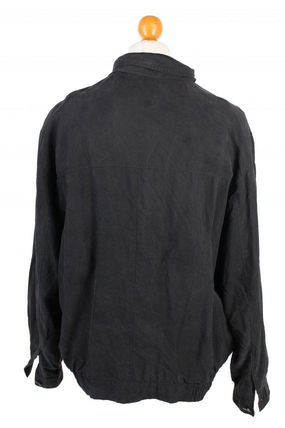 Vintage Daniel Hechter Lightweight Jacket Coat L Black -C1378-104146