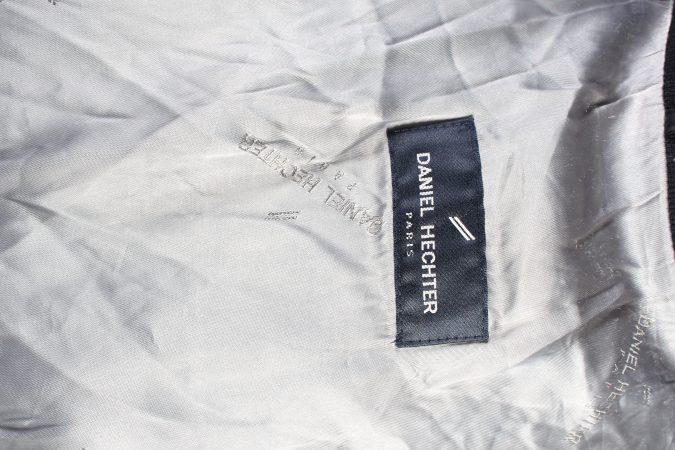 Vintage Daniel Hechter Lightweight Jacket Coat L Black -C1378-104147