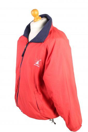 Vintage Helly Hansen Lightweight Jacket Coat S Red -C1380-104153