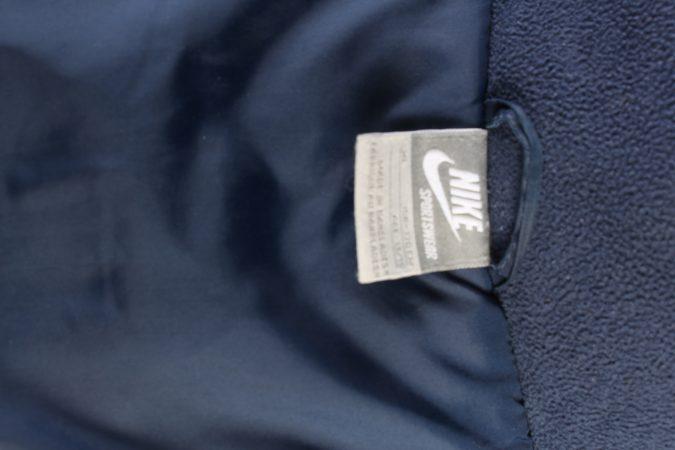 Vintage Nike Sport Coat Zipper XL Navy -C1420-104392