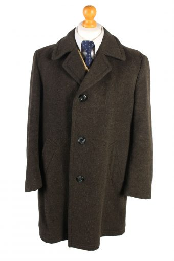 Vintage Le Tailler Wool Jacket Winter XL Khaki