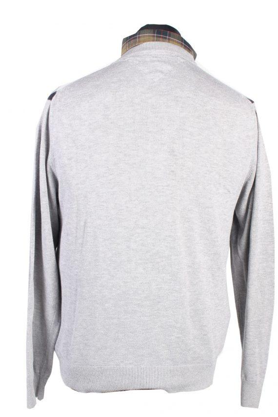 Vintage Tommy Hilfiger Winter Jumper Long Sleeve M Grey -IL1726-104941