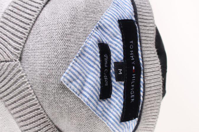 Vintage Tommy Hilfiger Winter Jumper Long Sleeve M Grey -IL1726-104942