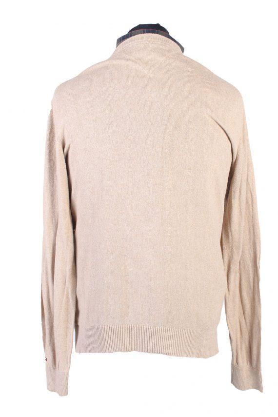 Vintage Tommy Hilfiger Catton Jumper Winter Long Sleeve M Beige -IL1731-104957