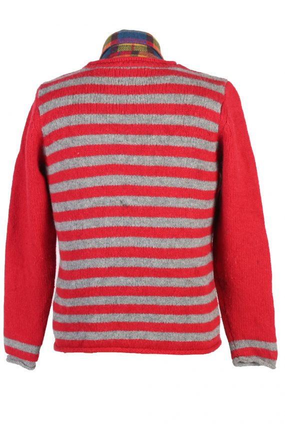 Vintage Claiborne Casual Jumper Long Sleeve L Red -IL1742-104993