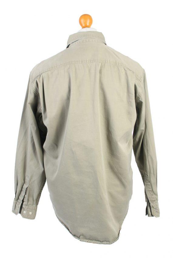 Vintage Lee Denim Shirt Brooklyn M Green SH3637-105067
