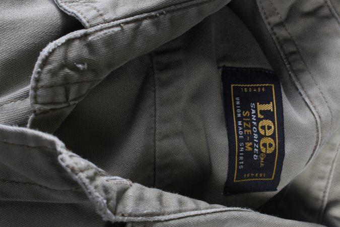 Vintage Lee Denim Shirt Brooklyn M Green SH3637-105068