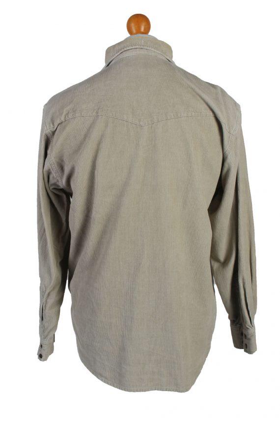 Vintage Lee Corduroy Shirt Casual S Cream SH3649-105115
