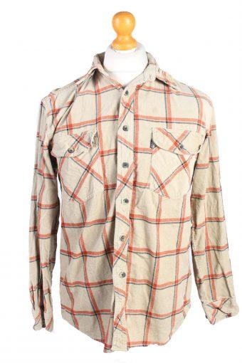 Corduroy Printed Shirt 90s Retro Multi M