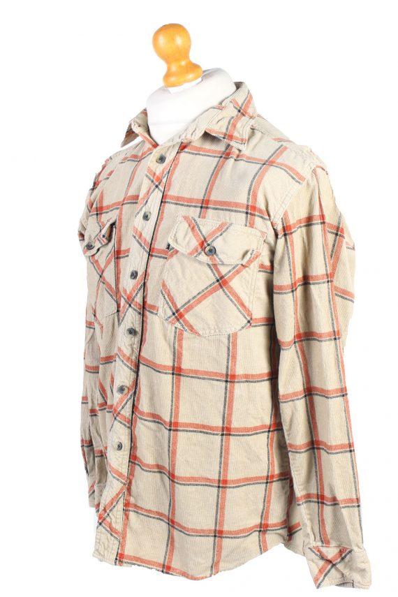 Vintage Miracle Corduroy Printed Shirt Catton M Multi SH3659-105169