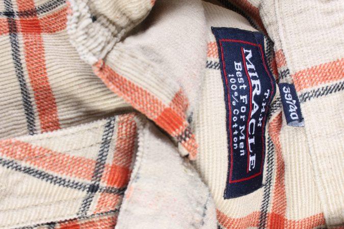 Vintage Miracle Corduroy Printed Shirt Catton M Multi SH3659-105171