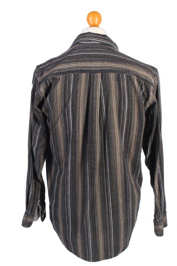 Vintage Corduroy Printed Shirt Majester Britpop M Multi SH3668-105206