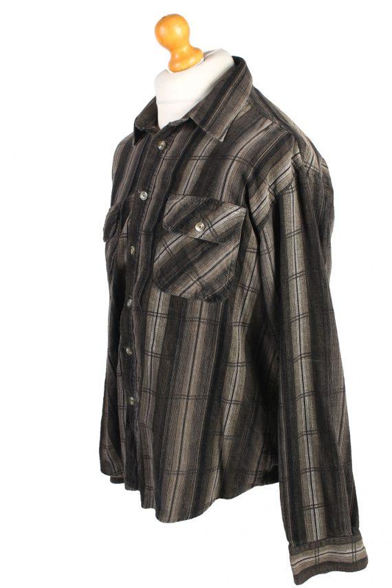Vintage By Geart Corduroy Printed Shirt Urban Cord XL Multi SH3671-105217