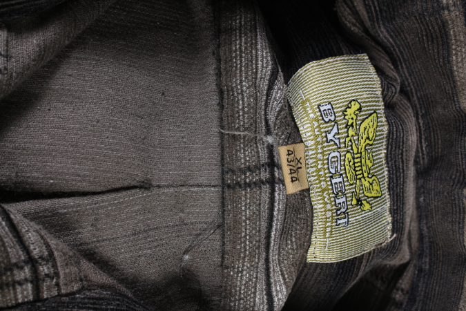 Vintage By Geart Corduroy Printed Shirt Urban Cord XL Multi SH3671-105219