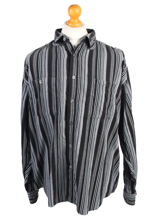 Vintage Greed Corduroy Printed Shirt Urban Cord XL Multi SH3672-0