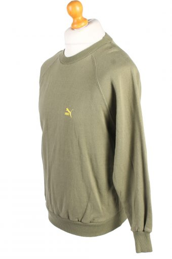 Vintage Puma Sweatshirt Sportswear M Green -SW2142-105309