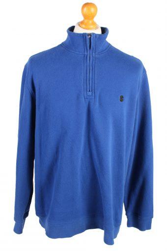 Track Top Shell Sweatshirt 90s Blue XL