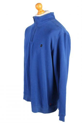 Izod Vintage Tracksuits Top Shell Sweatshirt XL Blue -SW2146-105325