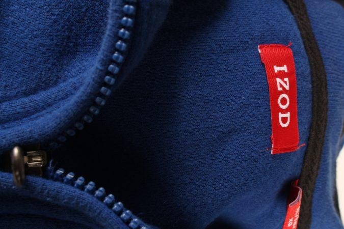 Izod Vintage Tracksuits Top Shell Sweatshirt XL Blue -SW2146-105327