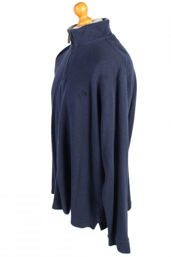 Vintage Chaps Tracksuits Top Sportlife Style XL Navy -SW2151-105345