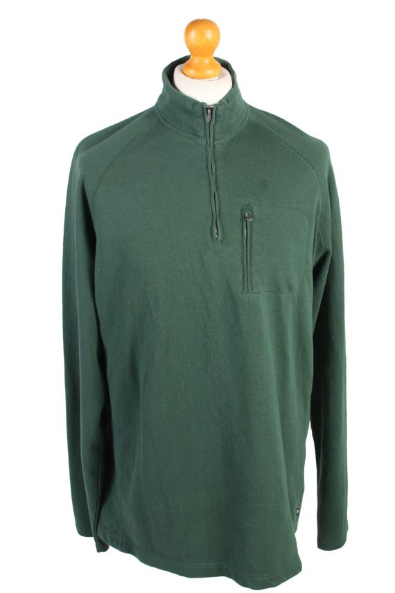 Vintage Chaps Tracksuits Top Shell Sportswear XL Green -SW2152-0