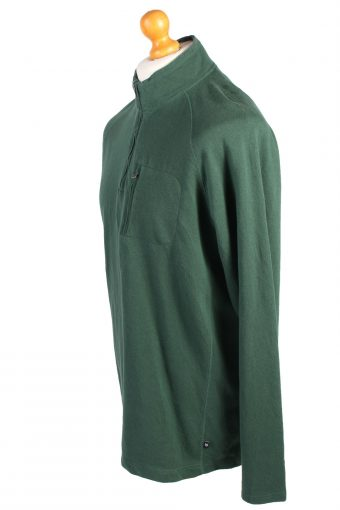 Vintage Chaps Tracksuits Top Shell Sportswear XL Green -SW2152-105349
