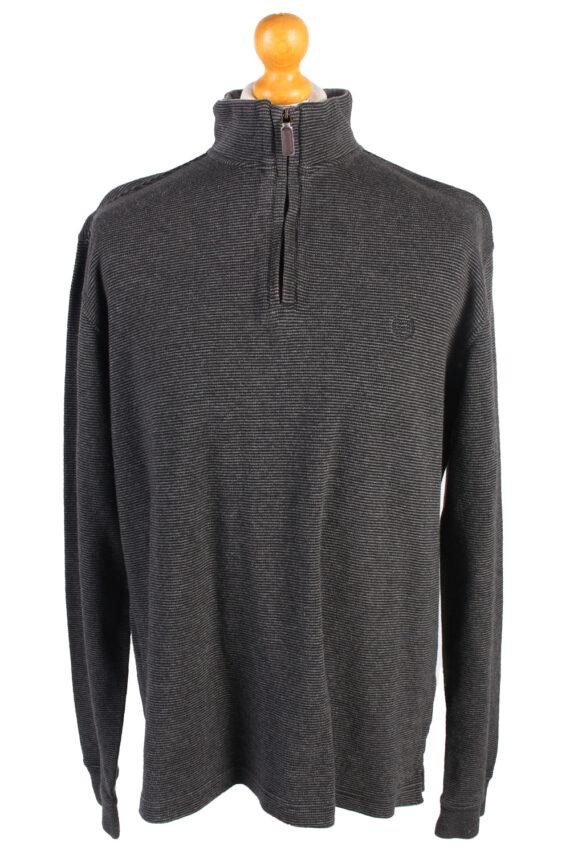 Vintage Chaps Tracksuits Top Shell Sportswear L Dark Grey -SW2153-0