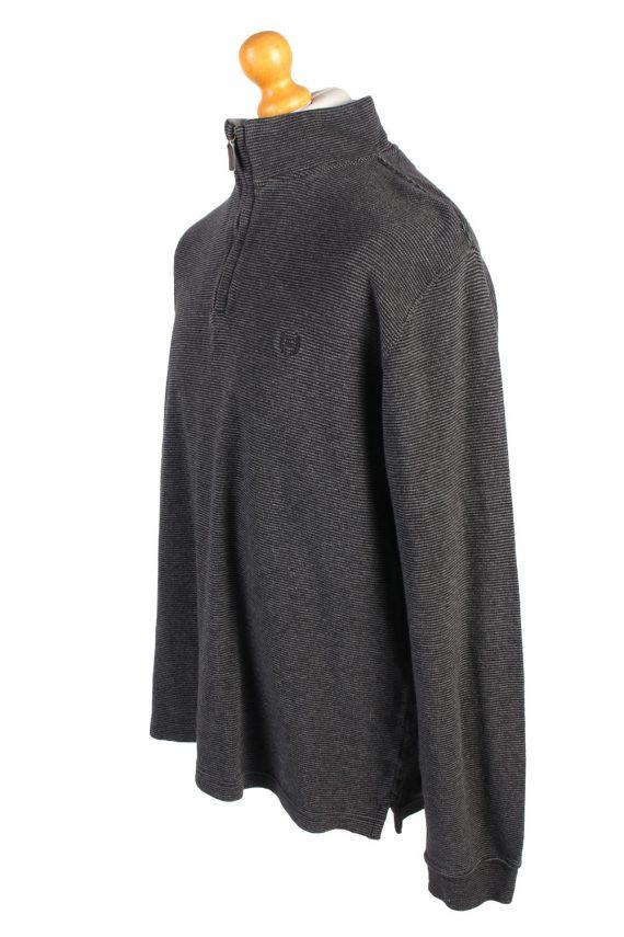 Vintage Chaps Tracksuits Top Shell Sportswear L Dark Grey -SW2153-105353