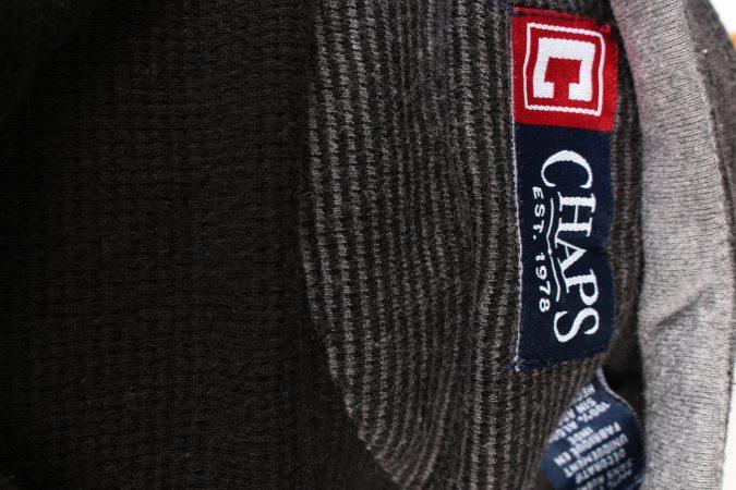 Vintage Chaps Tracksuits Top Shell Sportswear L Dark Grey -SW2153-105355