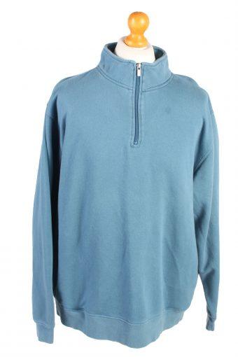 L.L Bean Track Top Sportswear Blue XL