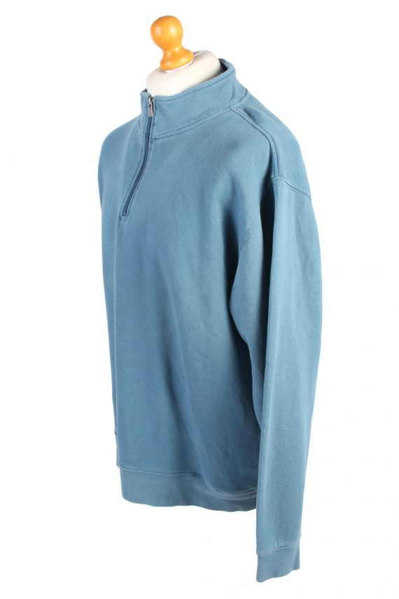 L.L Bean Vintage Tracksuits Top Sportswear XL Blue -SW2160-105377