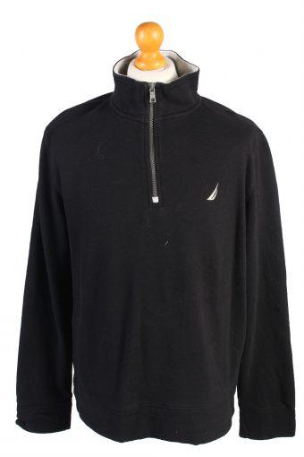 90s Retro Track Top Shell Sportswear Nautica Black L