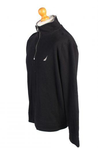 Vintage Nautica Tracksuits Top Shell Sportswear L Black -SW2164-105393