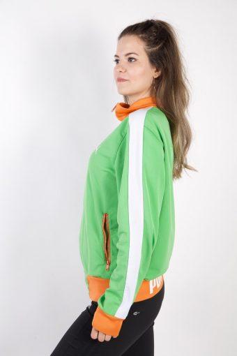 Vintage Puma Tracksuits Top Tracksuits Top L Green -SW2169-105476