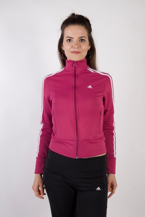 Adidas Vintage Tracksuits Top Shell Sportlife Style S Pink -SW2174-0