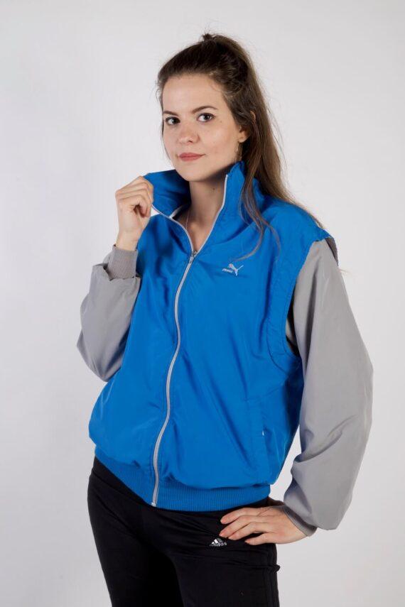 Vintage Puma Tracksuits Top Shell Sweatshirt S Blue -SW2178-0