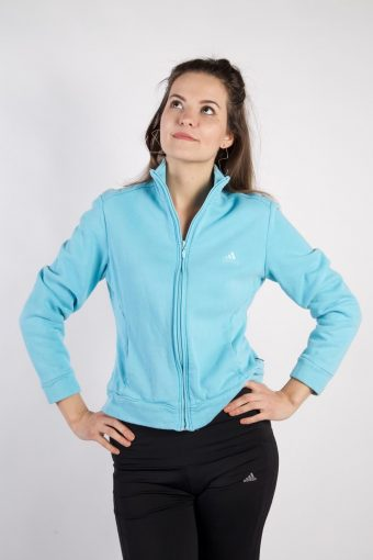 Adidas Track Top Urban Sportswear Turquoise S
