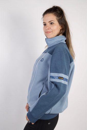 Vintage Trevais Tracksuits Top Sportswear L Blue -SW2196-105584