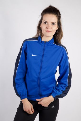 Nike Track Top 90s Retro High Neck Blue 12-13 Years