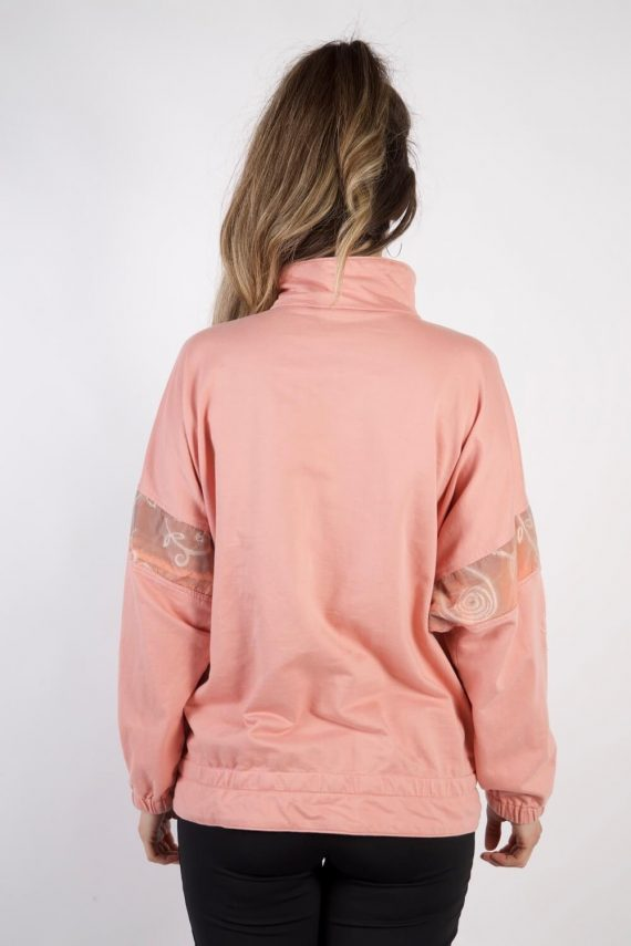 Vintage Authentic Tracksuits Top Shell Sportlife Style L Pink -SW2202-105605