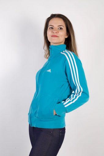 Adidas Vintage Tracksuits Top Sportswear L BLue -SW2211-105636