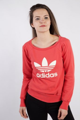 Adidas Sweatshirt 90s Retro Pink S