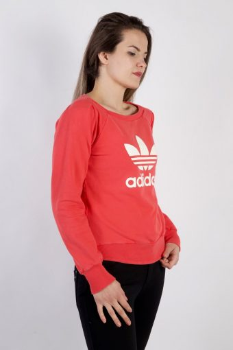 Vintage Adidas Tracksuits Top Shell Sportlife Style S Pink -SW2217-105652