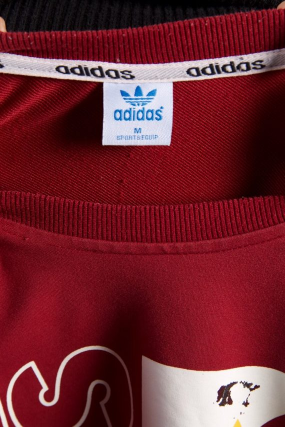 Vintage Adidas Tracksuits Top Sportswear M Red -SW2218-105658