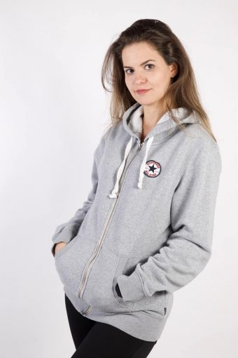 Converse All Star Track Top Hoodie Grey XL